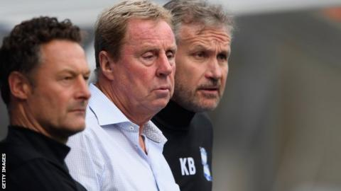Kevin Bond (right) worked alongside Harry Redknapp (centre) and Paul Groves during his time at Birmingham