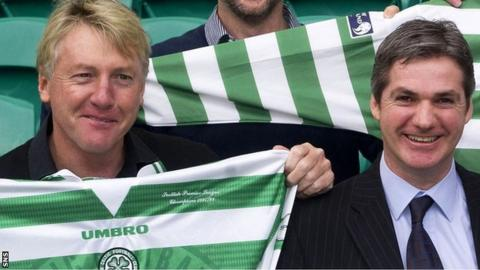 Frank McAvennie and Joe Miller