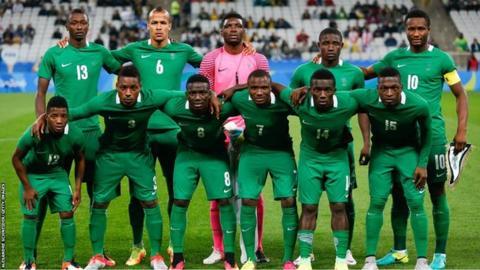 Nigeria's Olympic team in Rio
