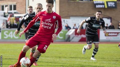 Gap Connah's Quay face Bala Town in last season's Welsh Premier League