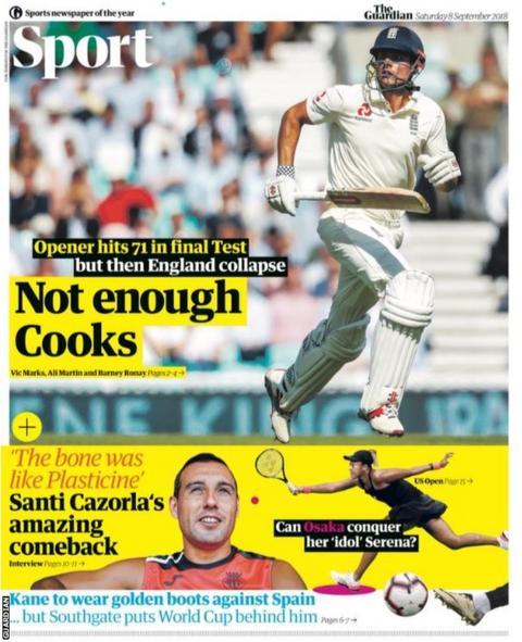 Saturday's Guardian