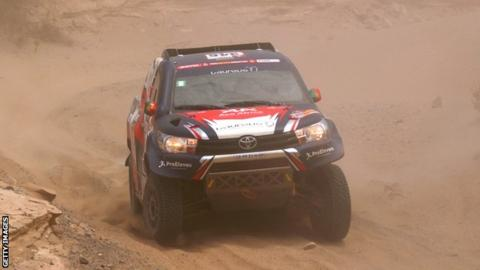 Andre Villas-Boas hospitalised after Dakar Rally crash, out of race