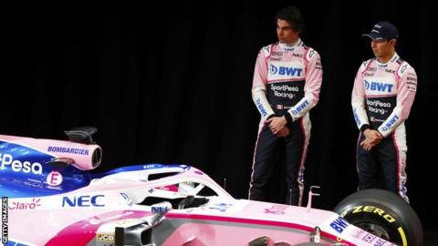 Force India's life as Racing Point begins with launch of 2019 vehicle