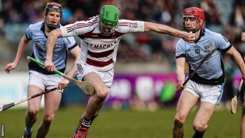 Ulster champions Slaughtneil were defeated in the All-Ireland semi-finals by Na Piarsaigh in February