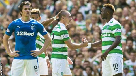 Celtic were comfortable winners over Rangers in the league last month