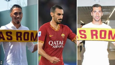 Missing children were all highlighted when Chris Smalling Henrikh Mkhitaryan and Davide Zappacosta joined Roma