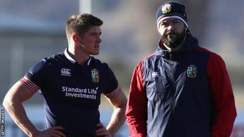 Owen Farrell will be looking to ruin his father's bid for a Grand Slam win with Ireland