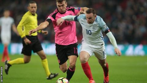 Rooney set to represent England... for one game only
