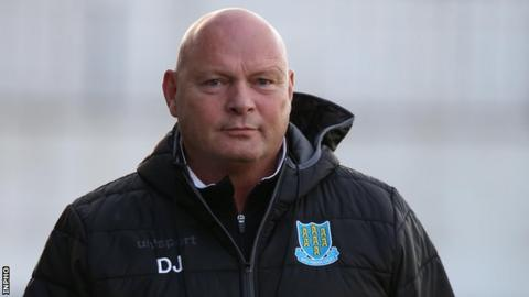 Ballymena manager David Jeffrey