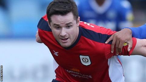 Crewe defender Eddie Nolan