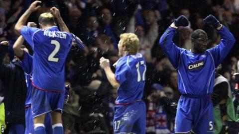 Rangers v Inter