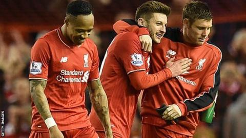 Nathaniel Clyne, Adam Lallana, James Milner