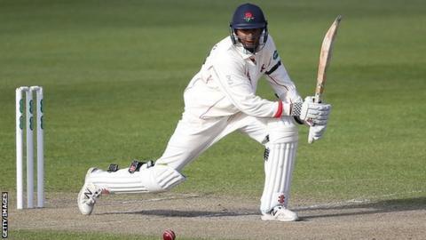 Lancashire batsman Haseeb Hameed