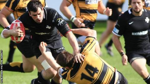 Lee Evans has played more than 100 times for Neath