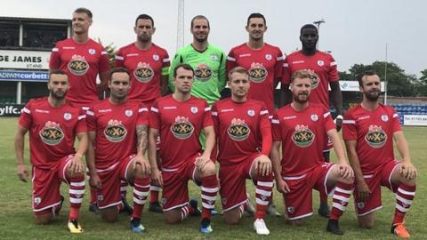 Connah's Quay team photo