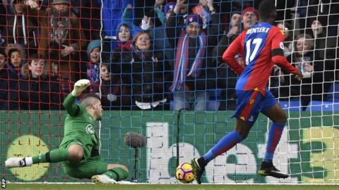 Palace goal