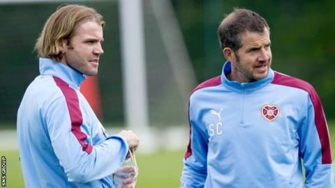 Robbie Neilson and Stevie Crawford