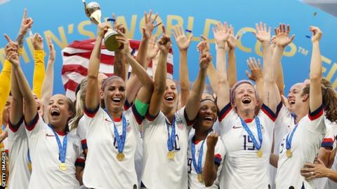 Women's World Cup glory for the United States in France on Sunday