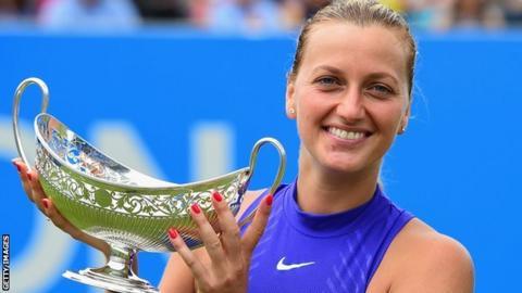 Petra Kvitova wins Aegon Classic