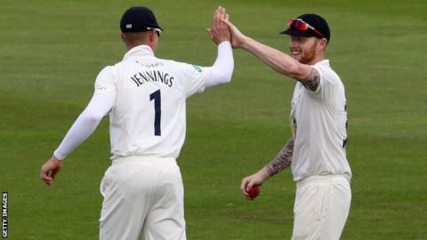 Keaton Jennings and Ben Stokes