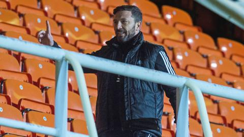 Derek McInnes is sent to the stand