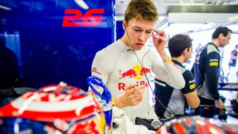 Ferrari signs Daniil Kvyat as development driver!