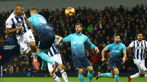 c07c77442f5b Salomon Rondon is only the second player to score a Premier League  hat-trick of headers