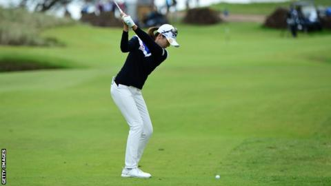 South Korea's Hur ends LPGA drought with Scottish Open triumph