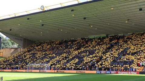 Wolves support for Carl Ikeme