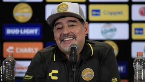 Diego Maradona recovering in hospital after operation for internal bleeding