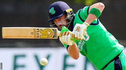 Northern Ireland Andrew Balbirnie hit 71 in for Ireland against the Windies in Sunday's one-day contest in Grenada but they visitors still suffered a heavy defeat