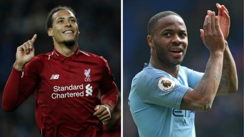 Virgil van Dijk and Raheem Sterling