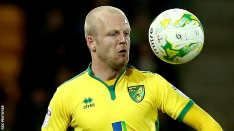 Norwich City striker Steven Naismith