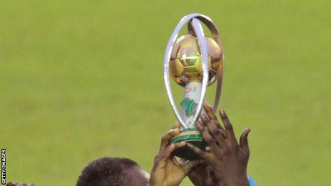 The African Nations Championship (CHAN) trophy
