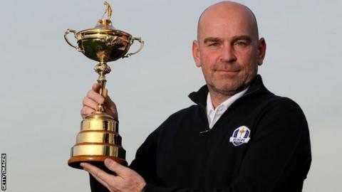 Thomas Bjorn named European Ryder Cup captain