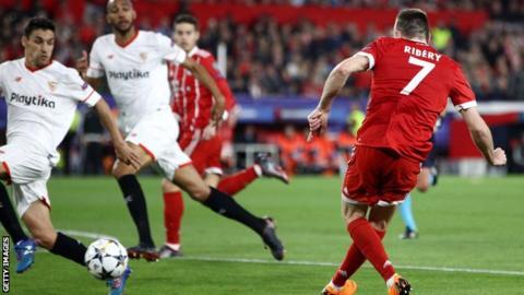 Bayern's Franck Ribery
