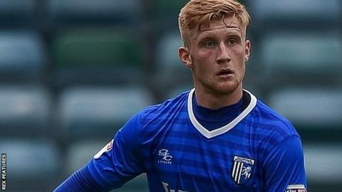 Gillingham defender Finn O'Mara