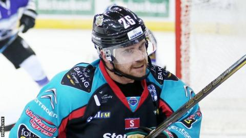 Brandon Benedict scored the second of the Giants' goals against Coventry