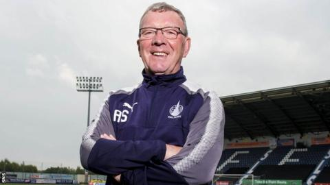 Falkirk interim boss Alex Smith