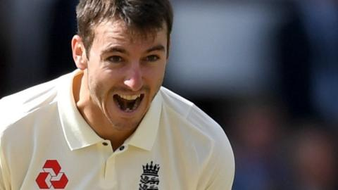 Middlesex and England bowler Toby Roland-Jones