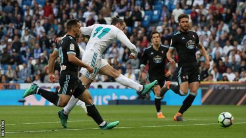 5250174a0 Real Madrid 6-0 Celta Vigo - BBC Sport