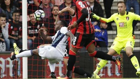 Saido Berahino has not played for Albion since the 1-0 defeat at Bournemouth on 10 September
