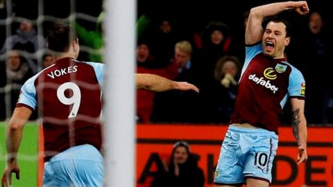 Sam Vokes and Ashley Barnes