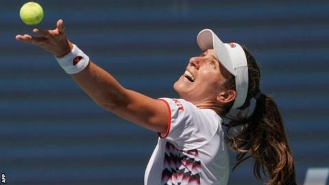 US Open 2019: Johanna Konta sees positives despite quarter