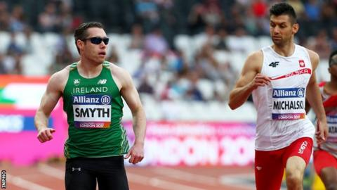 Jason Smyth clinched his 18th major gold medal