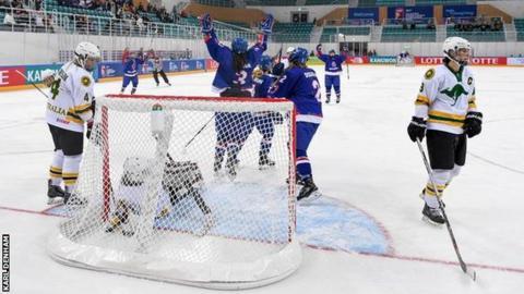 GB women's ice hockey
