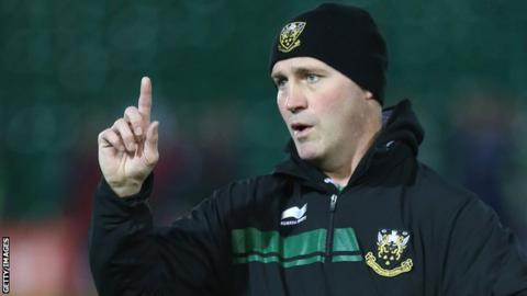 Northampton backs coach Alex king