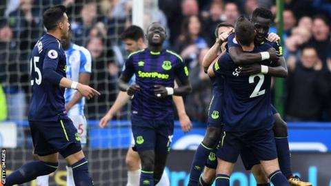 Gueye's strike was just his third goal of the season