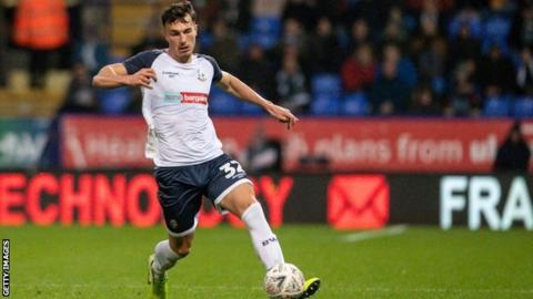 Josh Earl was only on the losing side three times in eight league games for bottom club Bolton