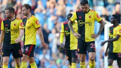 Watford are bottom of the Premier League and are yet to win